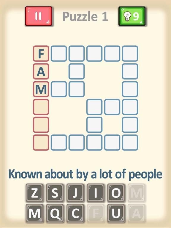 Crossword Puzzles... screenshot 4