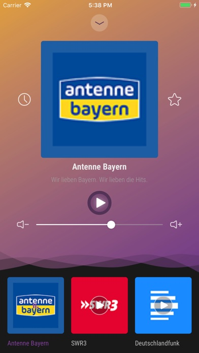 Screenshot for Radio Germany - Live FM Player in United Arab Emirates App Store