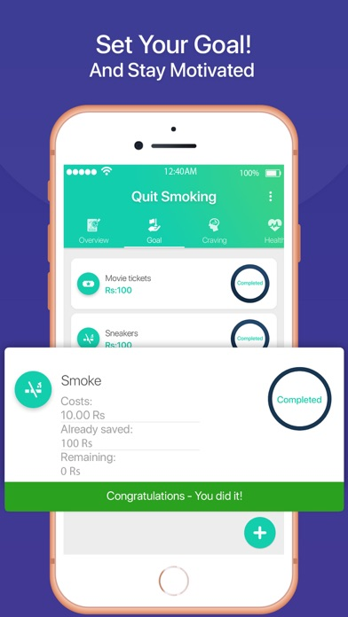 Quit Smoking Tracker screenshot three