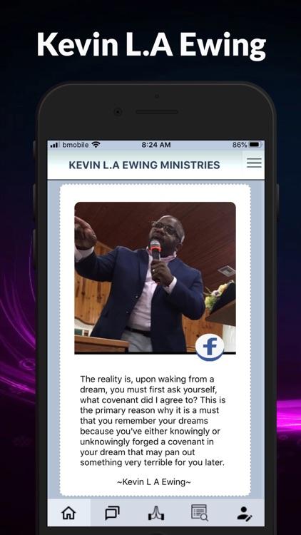 Kevin LA Ewing Ministries. screenshot-3