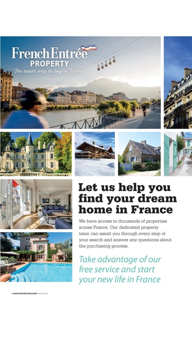 FrenchEntrée MagazineScreenshot of 4
