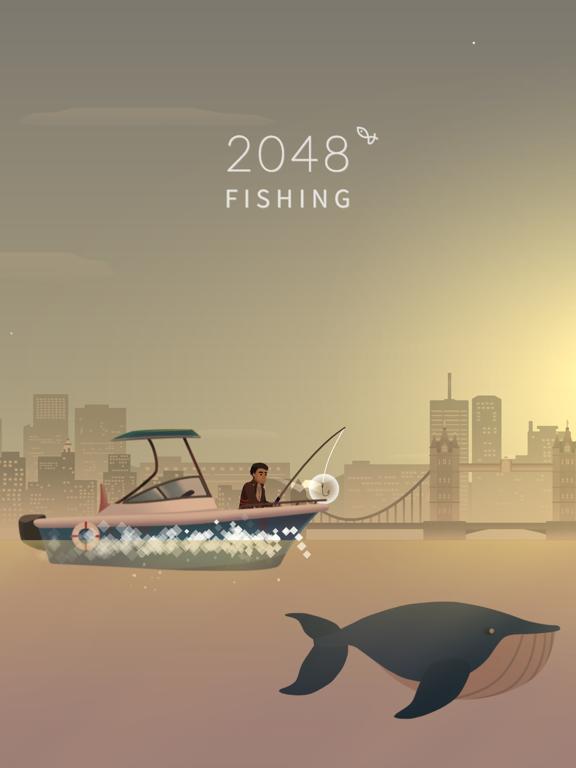 2048 Fishingのおすすめ画像1