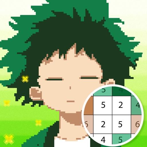 Anime Coloring Academia iOS App