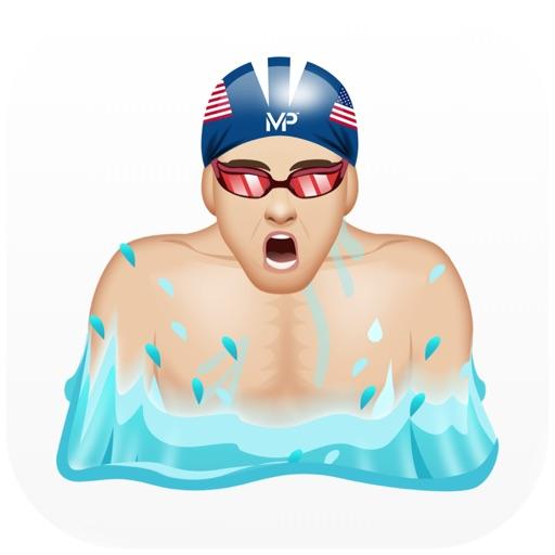 PhelpsMoji by Michael Phelps