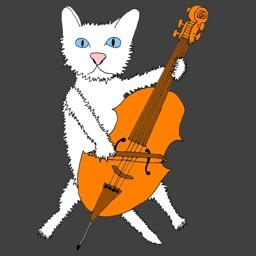Cello Kitten Tuner