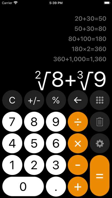 messages.download Calculator with History + software