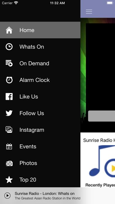 Sunrise Radio National screenshot one