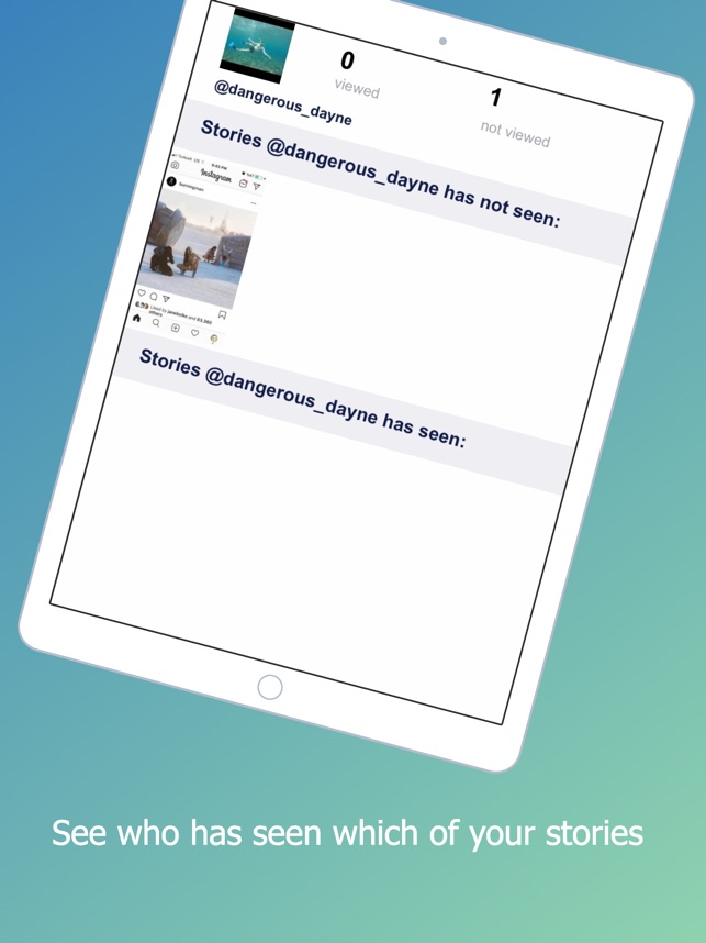 Ghost for Instagram Stories on the App Store