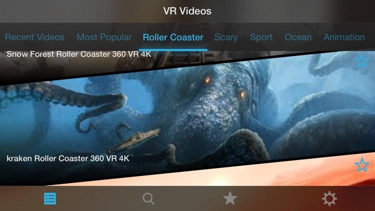 VR Movies : 2D 3D 360° Video screenshot-4