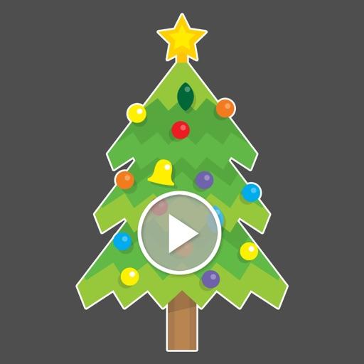 Animated Christmas Xmas icon