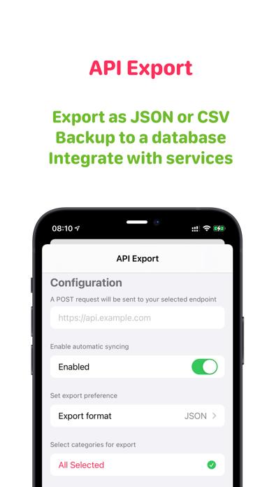 Health Auto Export - JSON+CSVのおすすめ画像4