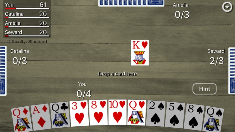 Spades Card Classic screenshot-3