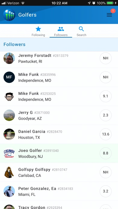 GolfNet: Golf Handicap Tracker