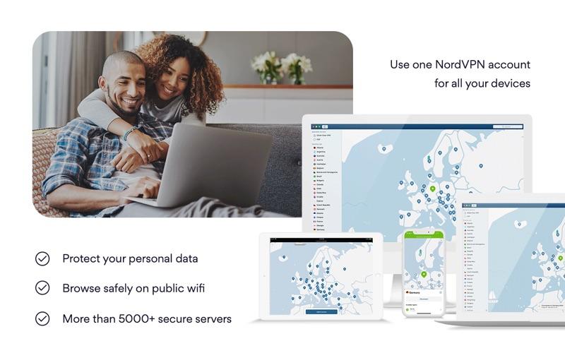 NordVPN IKE - Unlimited VPN Screenshot