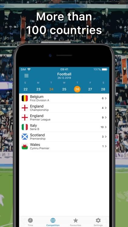 SportEventz - Live sport on TV screenshot-3