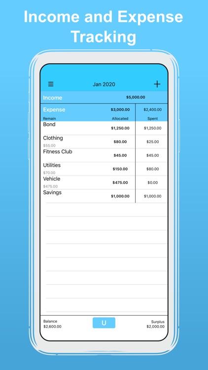 uBudget: Finance Planner screenshot-0