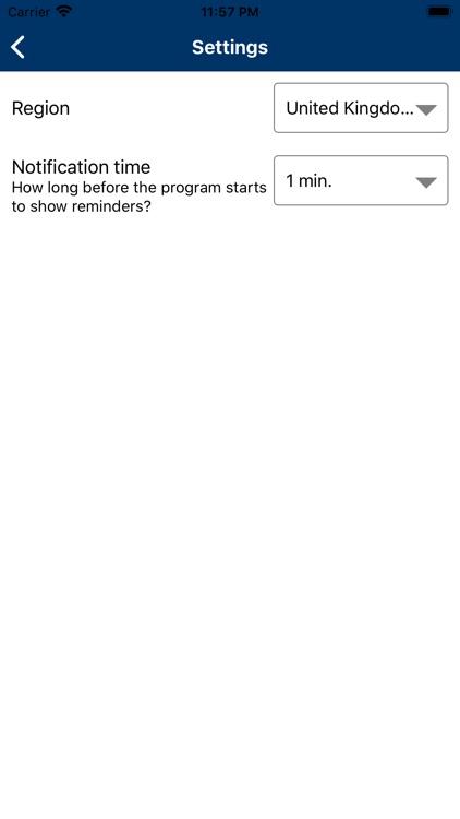 Tellyguide UK TV listings screenshot-5
