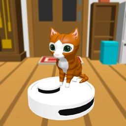 Robot Cleaner 3D funny cleaner