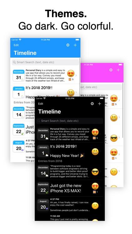 Personal Diary (Journal) App screenshot-4