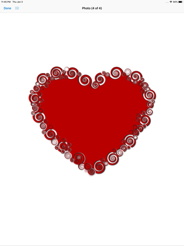 Red Heart Shaped Stickers On The App Store