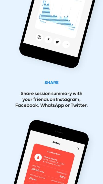 Illume Health - Sauna Tracker screenshot-6