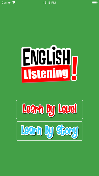 Learn English Listening screenshot one