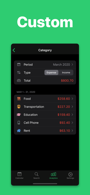 ‎Budget App - Monelyze Screenshot