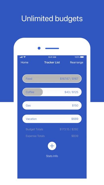 Pocket - Simple Budget Tracker screenshot-3