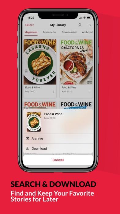 FOOD & WINE Screenshot