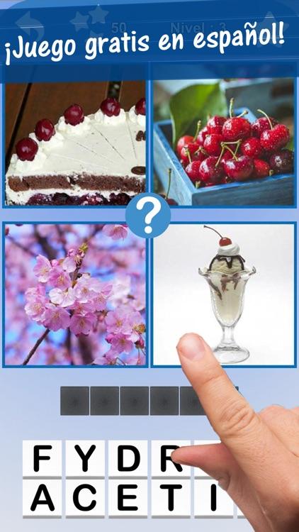 4 Fotos 1 palabra Español -
