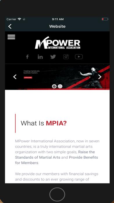 Screen Shot MPower International 1