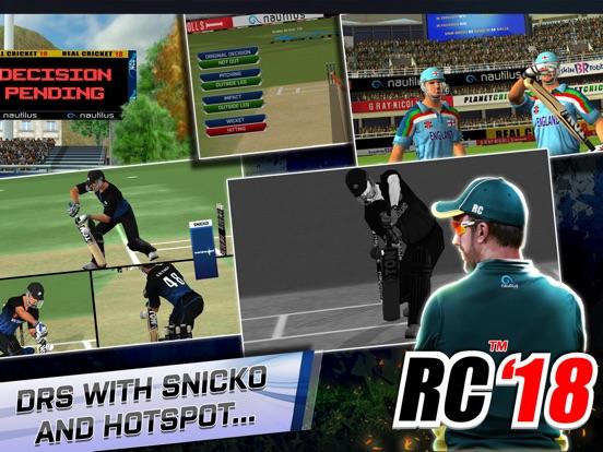 Real Cricket 18 - AppRecs