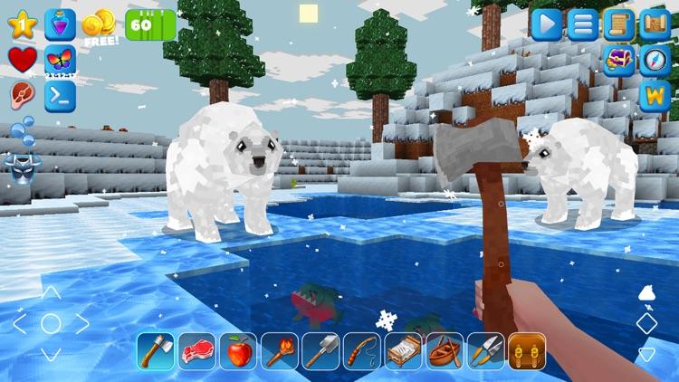 PrimalСraft 3D: Block Building screenshot-0