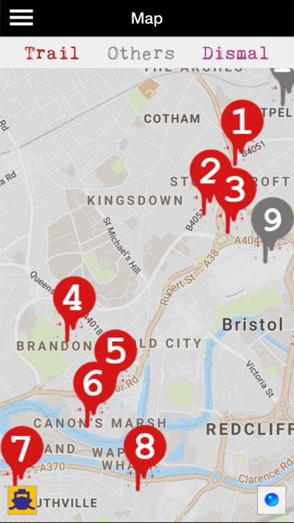 Banksy Bristol Trail screenshot-2