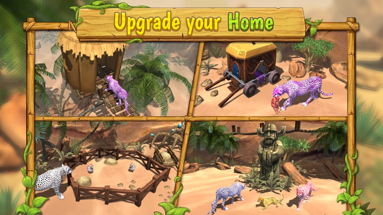 Cheetah Family Sim : Wild Cat screenshot-3