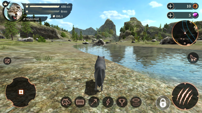 The Wolf: Online RPG Simulator Screenshot