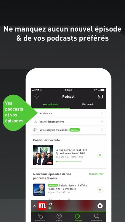radio.fr - radio et podcast screenshot-5