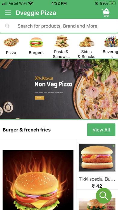 Dveggie Pizza screenshot 3