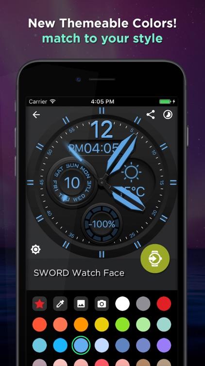Watch Faces 100,000 WatchMaker screenshot-5