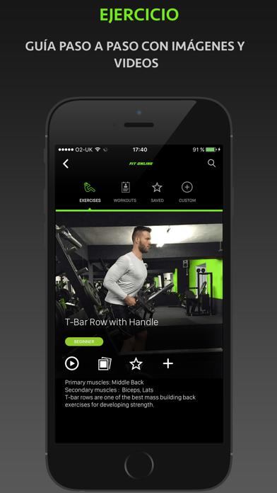 Fitness Online - Entrenador Personal Y Diario De EjercicioCaptura de pantalla de2