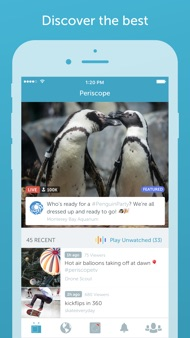 Periscope Live Video Streaming iphone images