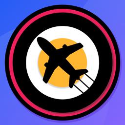 Ícone do app AeroNautical: METAR, NOTAMs