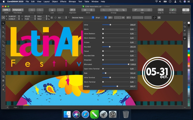 Coreldraw review screenshots