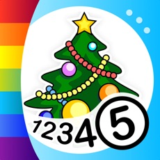 Activities of Color by Numbers - Christmas