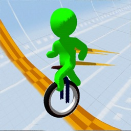 Happy Wheel Race 3D:Stickman
