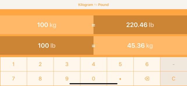 Kilograms To Pounds Kg To Lb 4