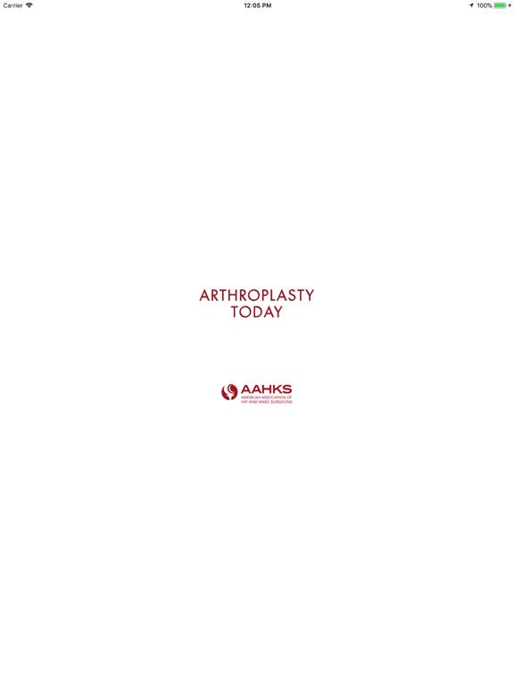 Arthroplasty Today screenshot 5