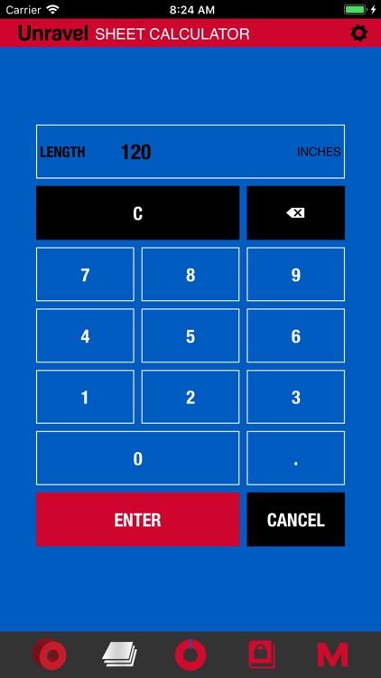 Unravel: Steel Calculator screenshot-4