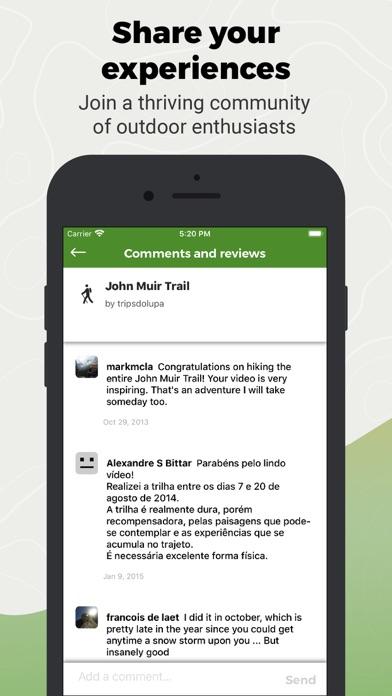 Wikiloc Outdoor Navigation GPS Screenshot