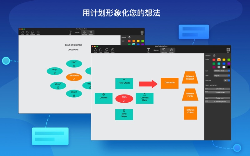 工作过程----思想组织